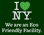 We are an Eco Friendly Facility.