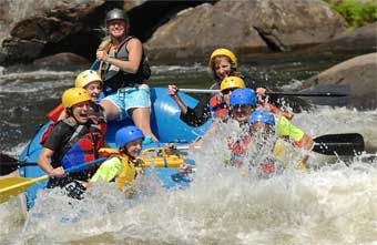 Book Your Whitewater Play & Stay Rafting Package for 2019 Today.